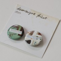 Dominique Fricot - Cover Art Buttons