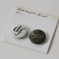 Dominique Fricot - Logo Buttons