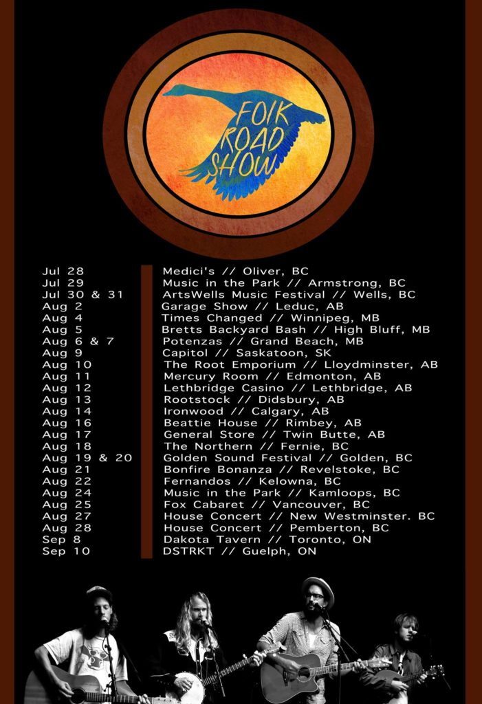 FRS CANADA 2016 Tour Poster